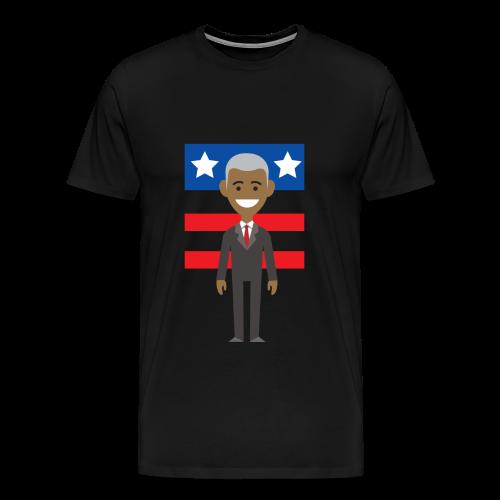 president - Men's Premium T-Shirt