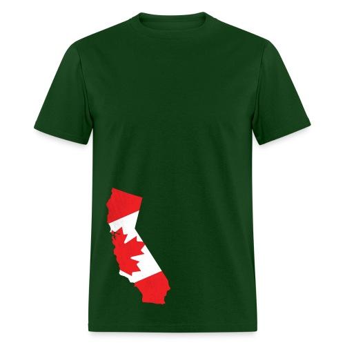 Canadian in Cali - Men's T-Shirt
