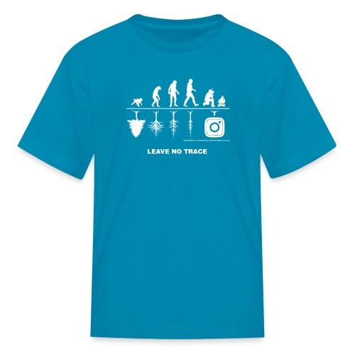 IG De-Evolution White Logo - Kids' T-Shirt - Kids' T-Shirt