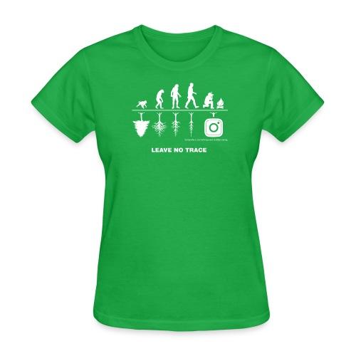 IG De-Evolution White Logo - Women's T-Shirt - Women's T-Shirt