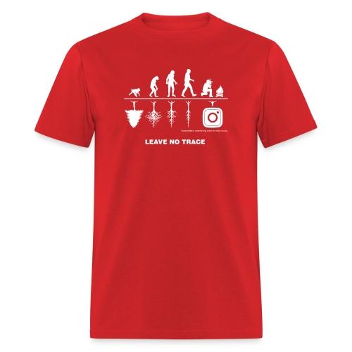 IG De-Evolution White Logo - Men's T-Shirt - Men's T-Shirt