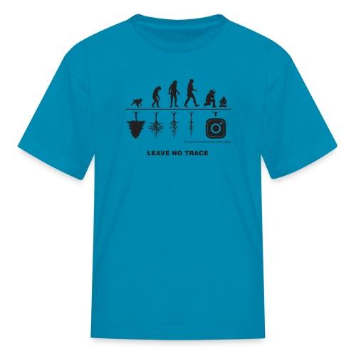 IG De-Evolution Black Logo - Kids' T-Shirt - Kids' T-Shirt