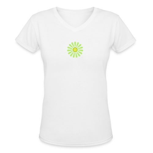 Daisy (3c) - Women's V-Neck T-Shirt
