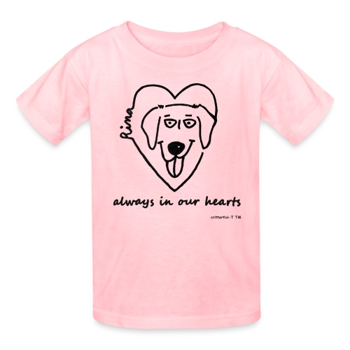 Rina always in our hearts - kids - Kids' T-Shirt
