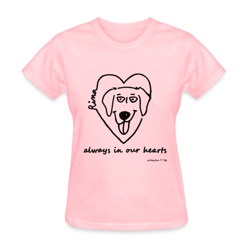 Rina always in our hearts - women - Women's T-Shirt