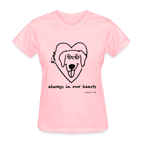 Rina always in our hearts - women - Women's T-Shirt