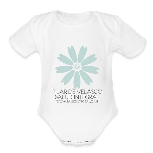 Salud Integral Accesorios - Organic Short Sleeve Baby Bodysuit