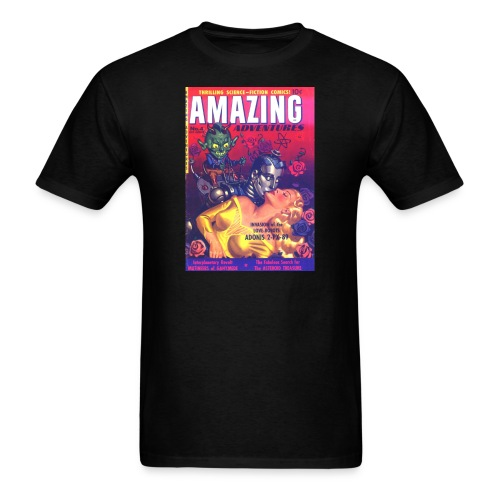 Amazing Adventures #4 - Men's T-Shirt