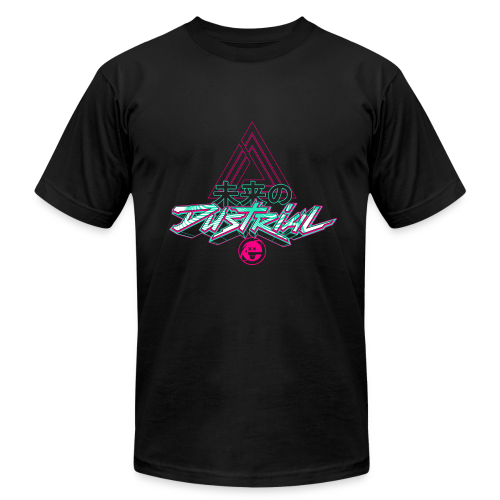 DUSTRIAL RETROGRADE AMERICAN APPAREL T-SHIRT - Men's Fine Jersey T-Shirt