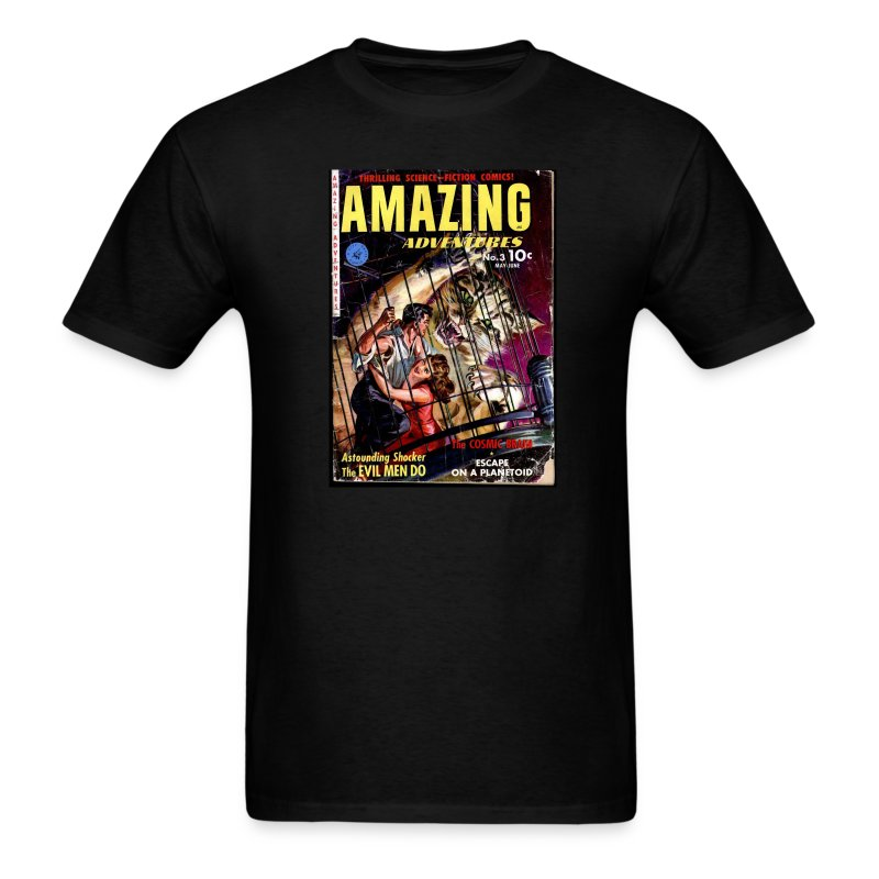 Amazing Adventures #3 - Men's T-Shirt