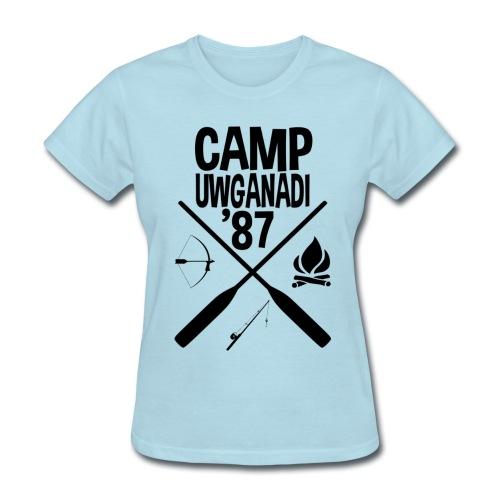Camp Uwganadi Staff Shirt, for Ladies - Women's T-Shirt