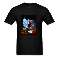 T-Shirts ~ Men's T-Shirt ~ Bony Finger In The Sweet Spot T-shirt