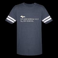 T-Shirts ~ Vintage Sport T-Shirt ~ You Down with Da U.P? Vintage Sport Tee