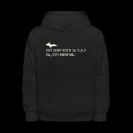 Sweatshirts ~ Kids' Hoodie ~ You Down with Da U.P? Next Level