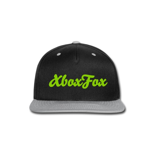 Toxic Fox Snapback - Snap-back Baseball Cap