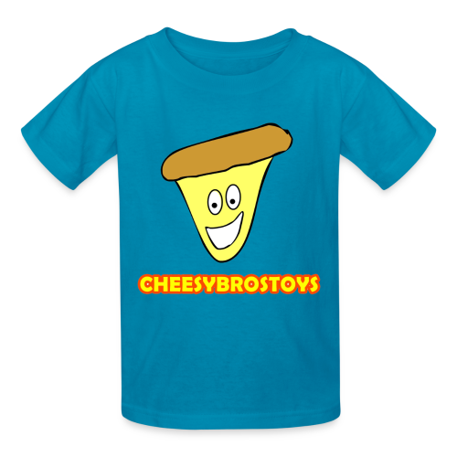 CheesyBrosToys Kid's Shirt (Assorted Colors Available) - Kids' T-Shirt