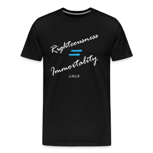 LLA - Righteousness - Men's - Men's Premium T-Shirt