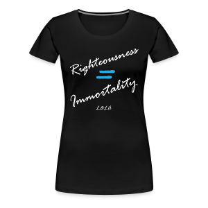 LLA - Righteousness - Women's - Women's Premium T-Shirt