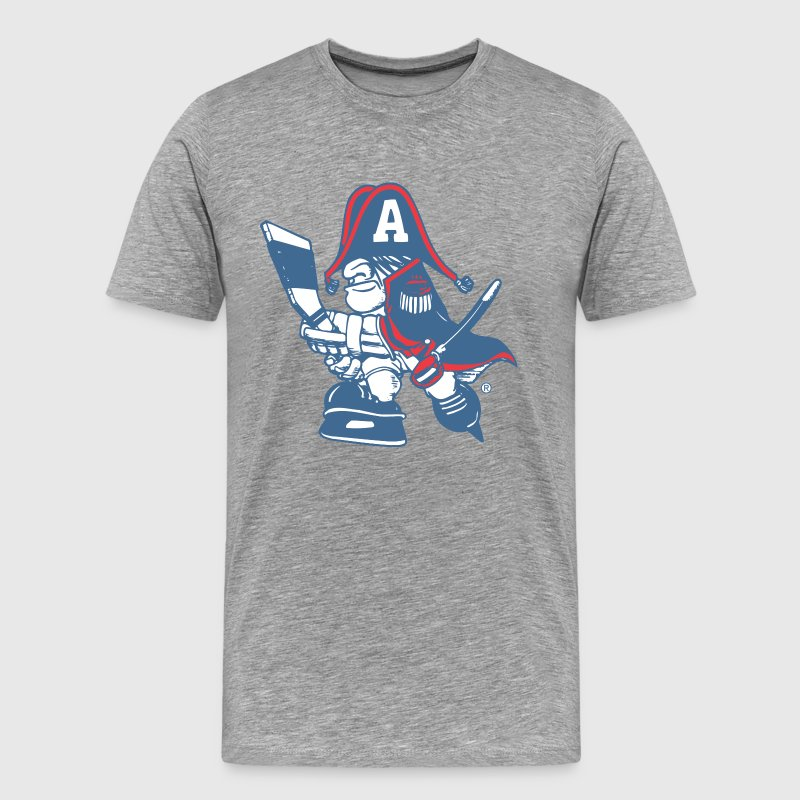 Milwaukee admiral cartoon - Men's Premium T-Shirt