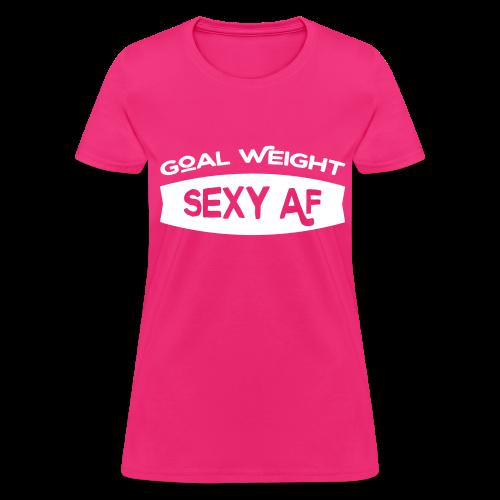 Sexy AF Women's Tee - Women's T-Shirt