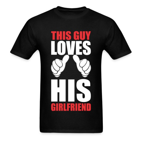 Mens Girlfriend T-Shirt - Men's T-Shirt