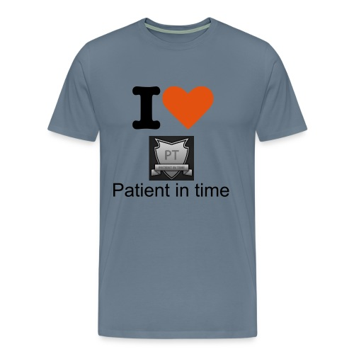 Mens Patient in time t-shirt - Men's Premium T-Shirt