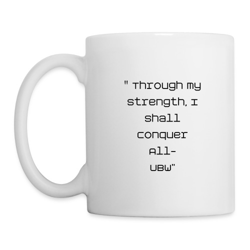 (UN) Apologetic Black Woman Motto  Ceramic Mug - Coffee/Tea Mug