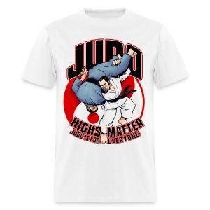 Judo Highs Matter - Men's T-Shirt