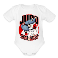 Baby Bodysuits ~ Baby Short Sleeve One Piece ~ Judo Highs Matter