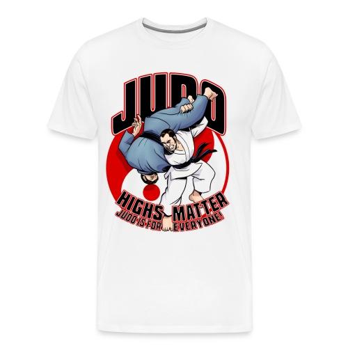 Judo Highs Matter - Men's Premium T-Shirt