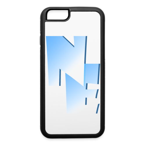 iPhone 6/6s Rubber Case - Nippy Eskimo Logo - iPhone 6/6s Rubber Case
