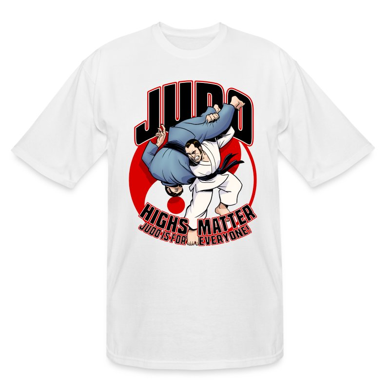Judo Highs Matter - Men's Tall T-Shirt