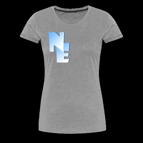 Women's Premium T-Shirt - Nippy Eskimo Logo - Women's Premium T-Shirt
