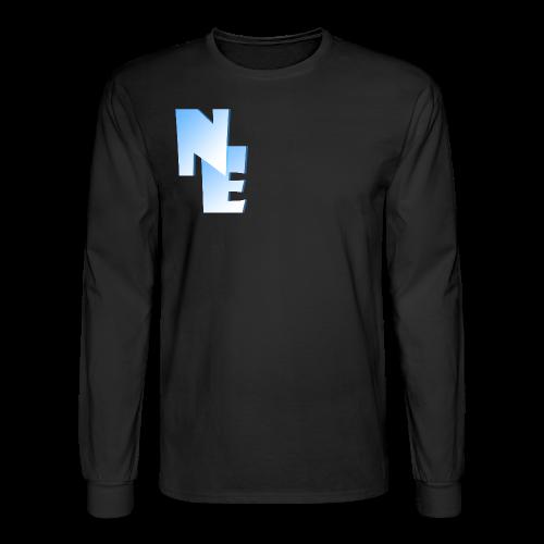 Men's Long Sleeve T-Shirt - Nippy Eskimo Logo - Men's Long Sleeve T-Shirt
