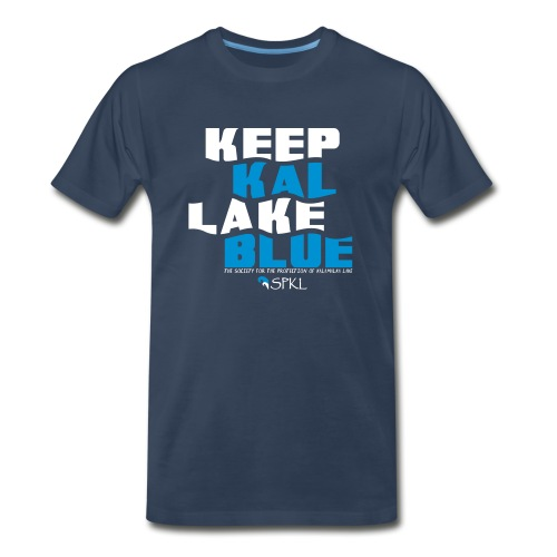 Keep Kal Lake Blue Men's Premium T-Shirt - Men's Premium T-Shirt