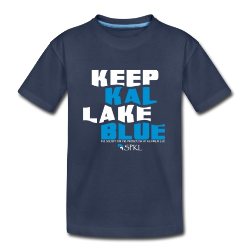 Keep Kal Lake Blue Kid's Premium T-Shirt - Toddler Premium T-Shirt