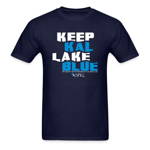 Keep Kal Lake Blue Men's T-Shirt - Men's T-Shirt