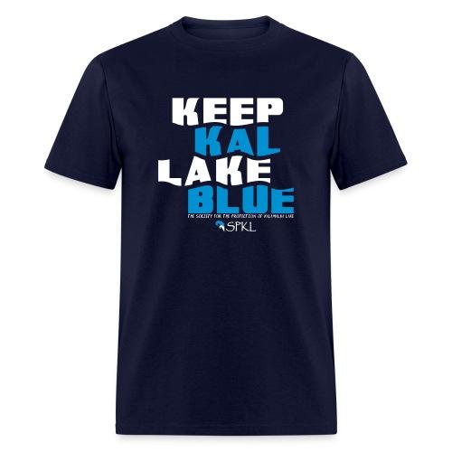 Keep Kal Lake Blue Men's T-Shirt - Men's T-Shirt