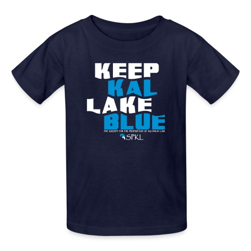 Keep Kal Lake Blue Kid's T-Shirt - Kids' T-Shirt