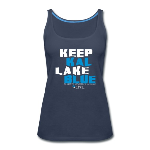 Keep Kal Lake Blue Women's Premium Tank-Top - Women's Premium Tank Top