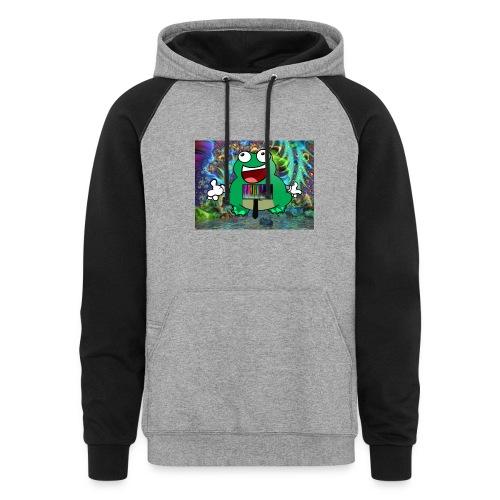 Radical Frog: Jumper - Colorblock Hoodie