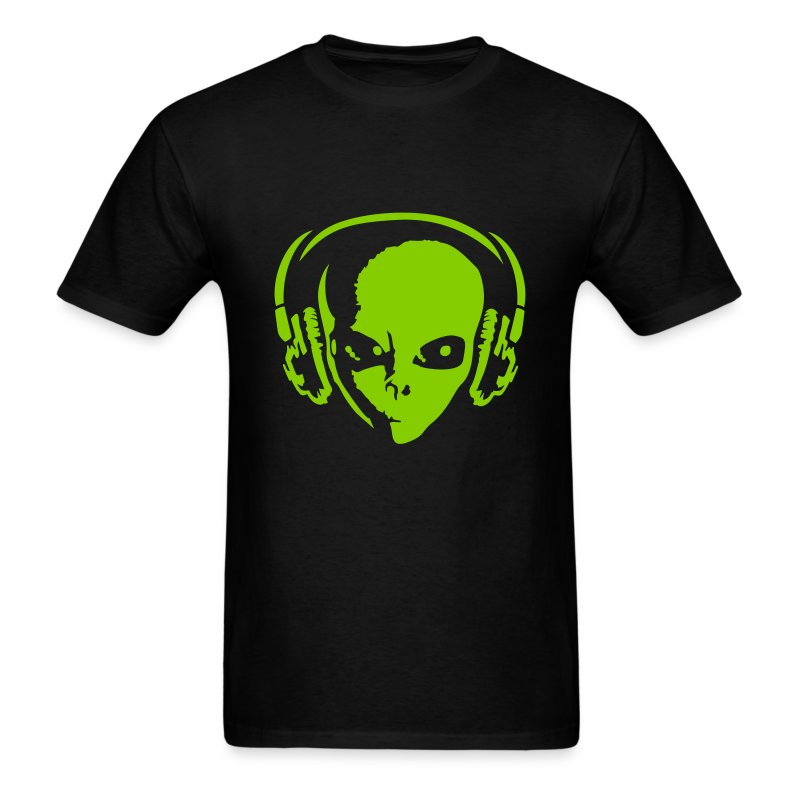 DJ Alien - Men's T-Shirt
