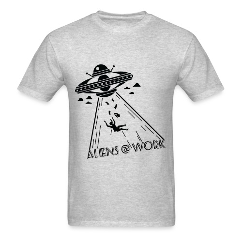 Alien @ Work - Men's T-Shirt