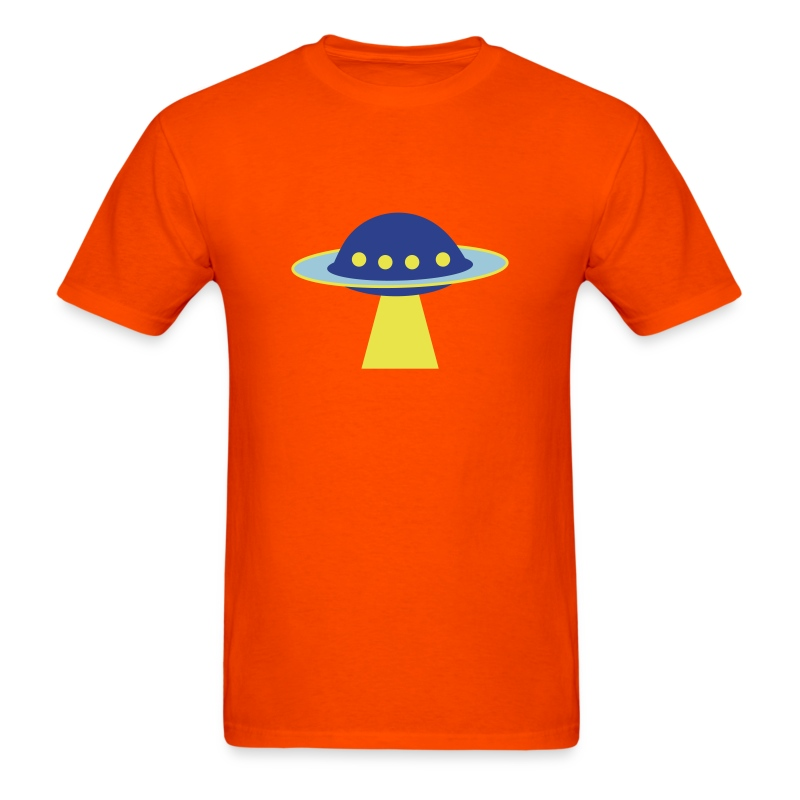 UFO Colors - Men's T-Shirt