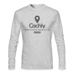 Cachly t-shirt long sleeve in Heather Gray - Mens - Men's Long Sleeve T-Shirt by Next Level
