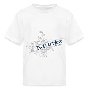 Youth Munoz DC Logo  - Kids' T-Shirt