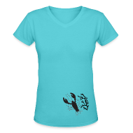 T-Shirts ~ Women's V-Neck T-Shirt ~ Article 105410627