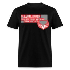 Vanityz Quote Tee - Men's T-Shirt