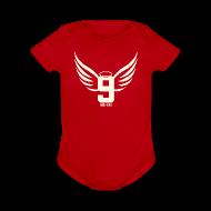 Baby Bodysuits ~ Baby Short Sleeve One Piece ~ Gordie Wings