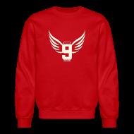 Long Sleeve Shirts ~ Crewneck Sweatshirt ~ Gordie Wings